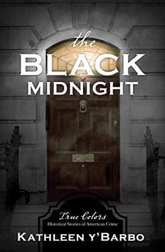 The Cover of The Black Midnight shows the door to a nice home